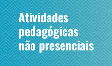 Banner Atividades pedagógicas não presenciais